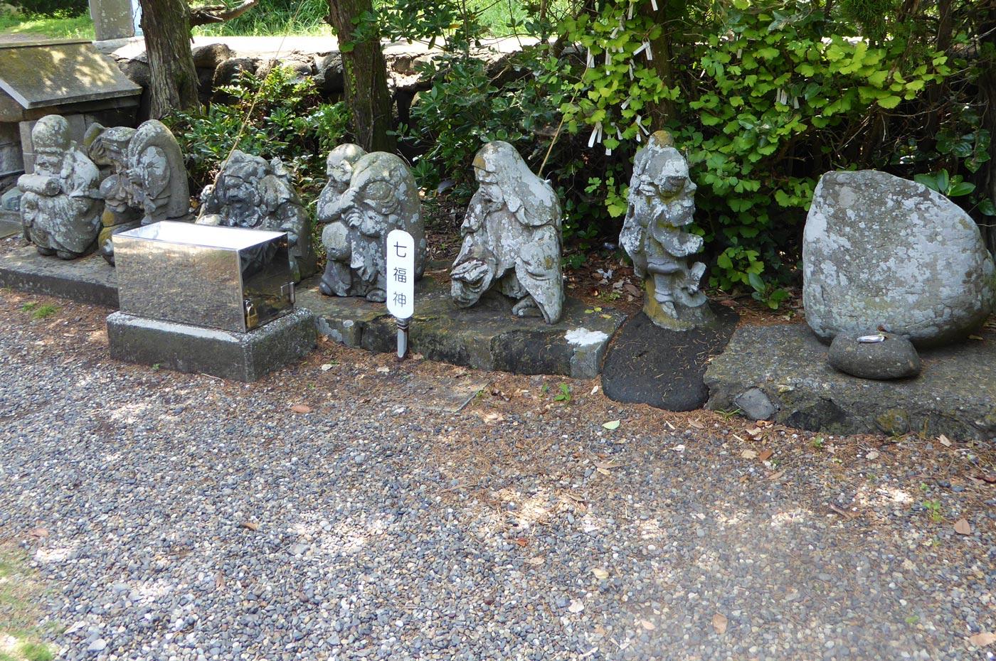 厳島神社の七福神