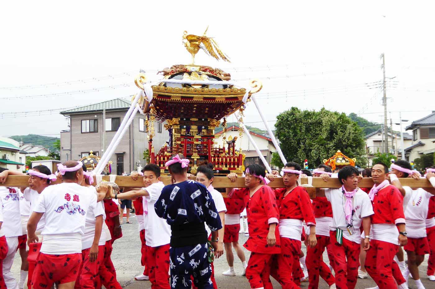 寺庭地区 八幡神社の神輿
