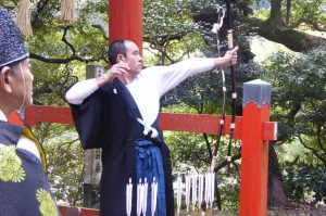 日枝神社の御神的神事
