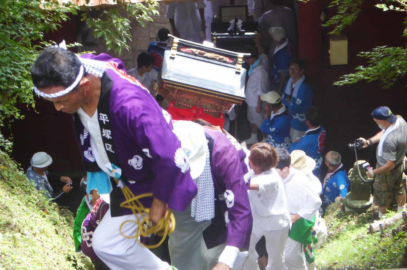 高蔵神社例祭 平塚区の神輿