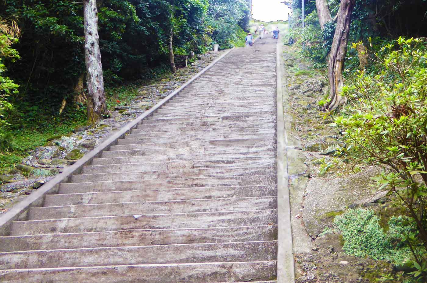 洲崎神社の厄払い坂