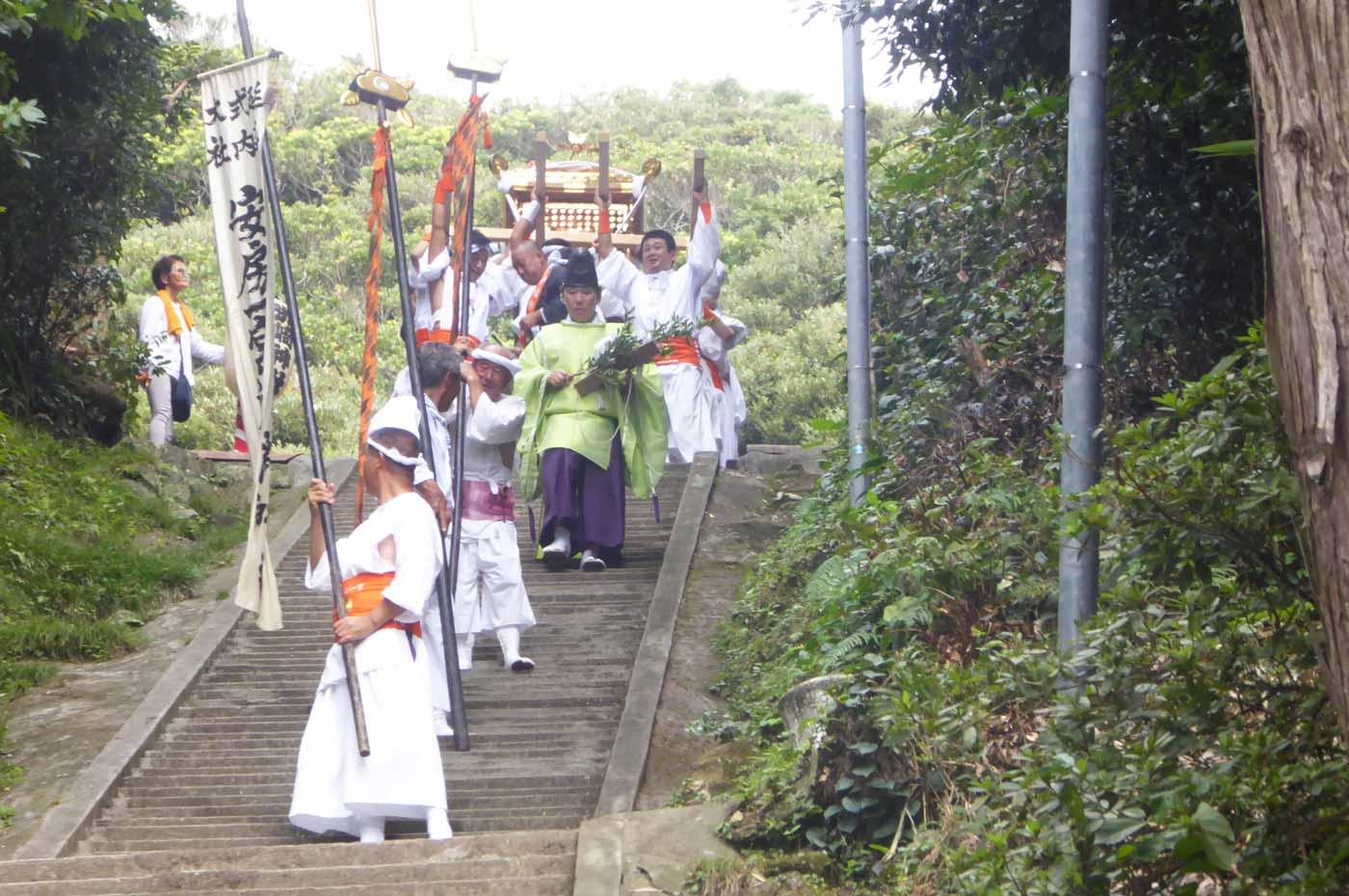 洲崎神社の神輿