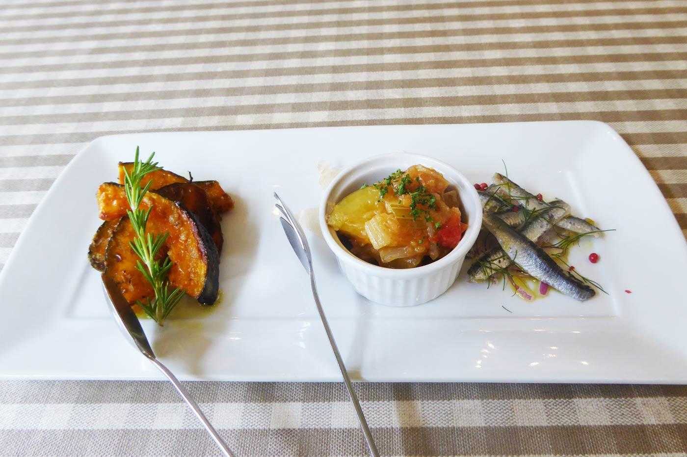 ボーノの前菜3種