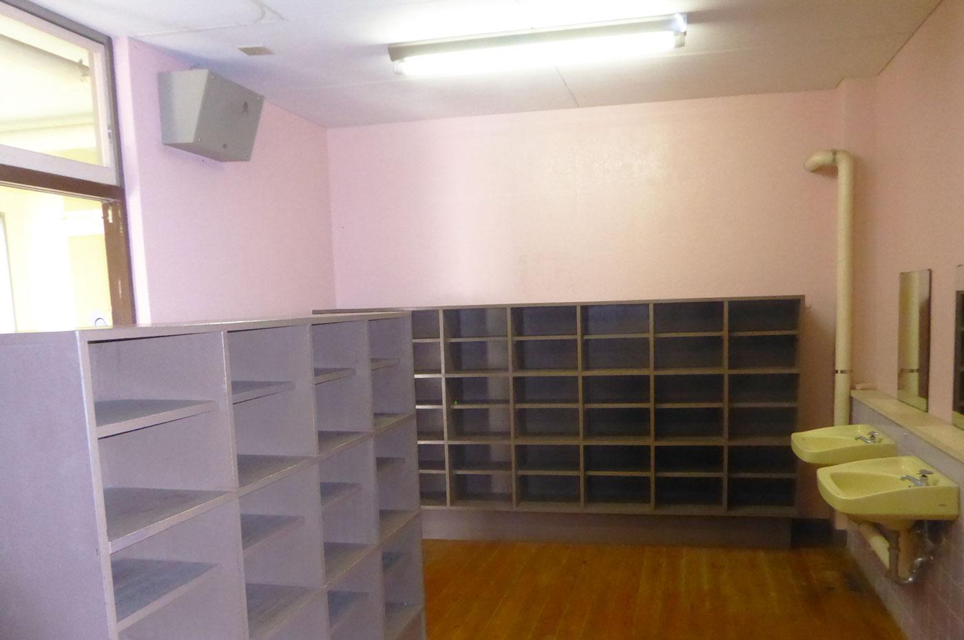 館山シーサイドビレッジの更衣室