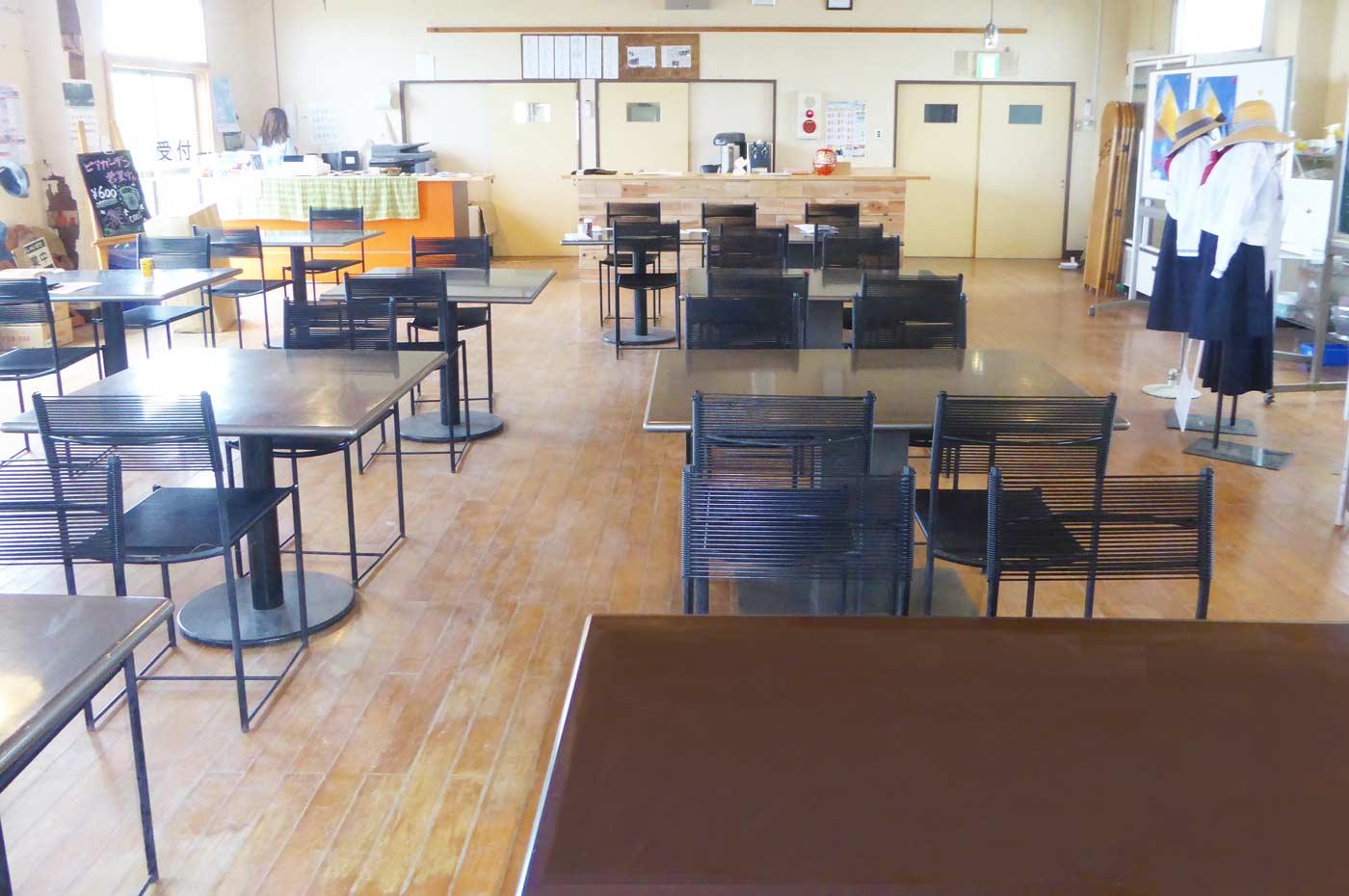 館山シーサイドビレッジのカフェ