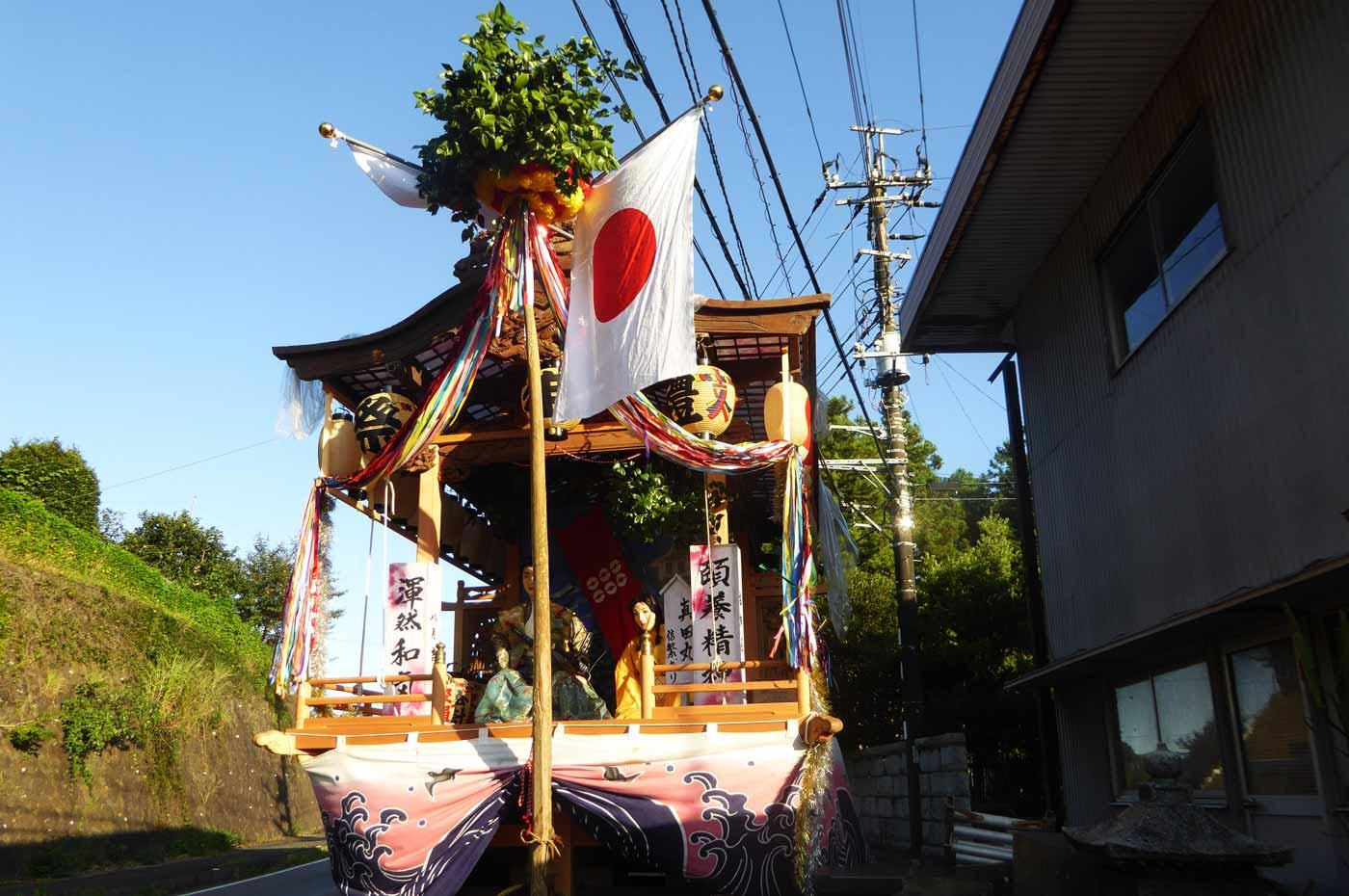 高蔵神社例祭 古畑区の屋台