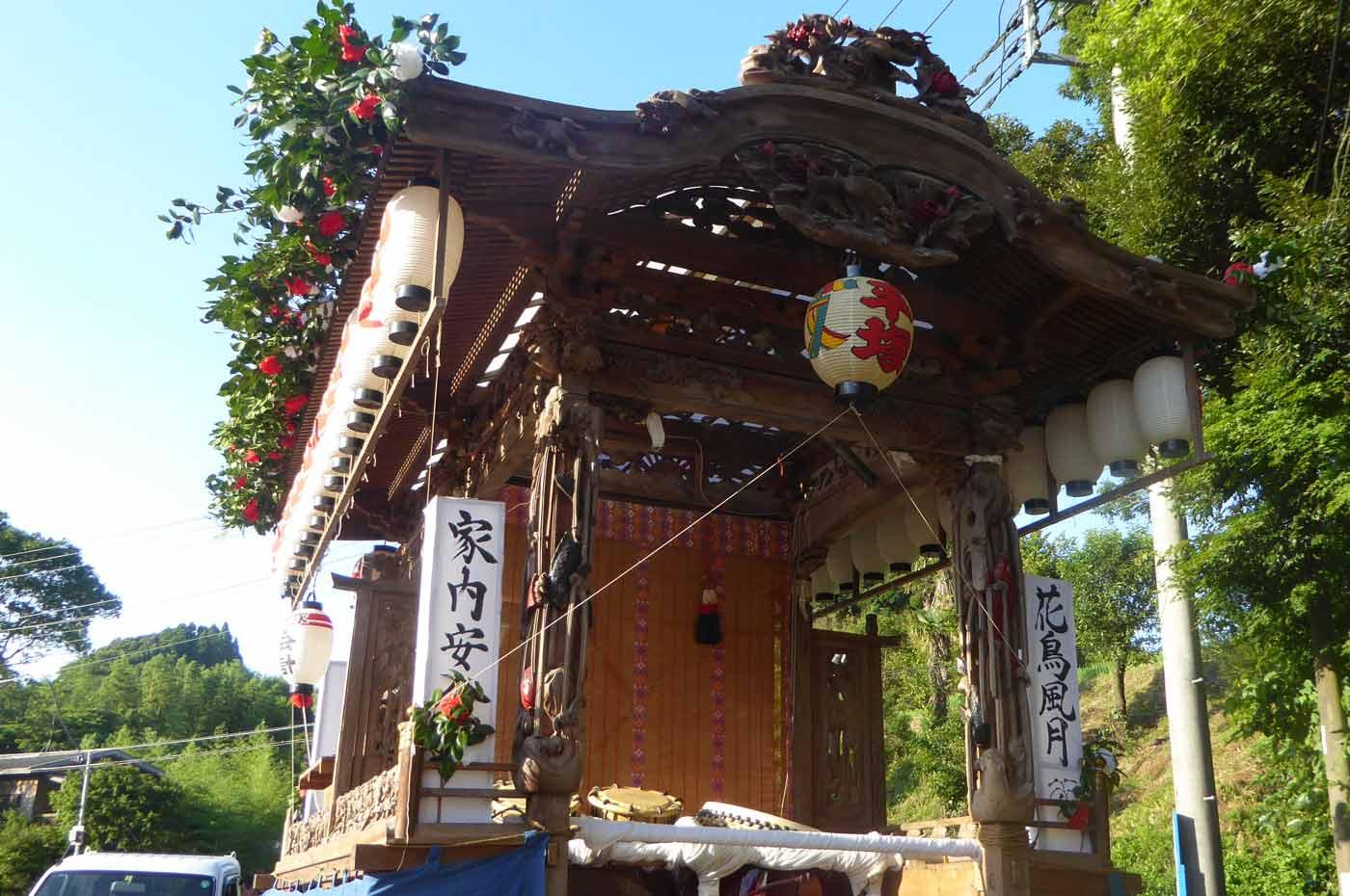高蔵神社例祭 平塚区の屋台