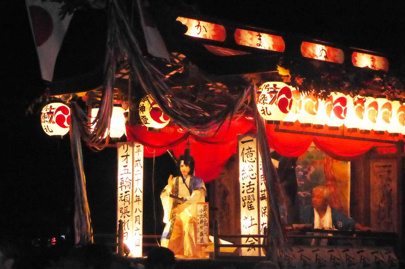 高蔵神社例祭 釜沼区の屋台