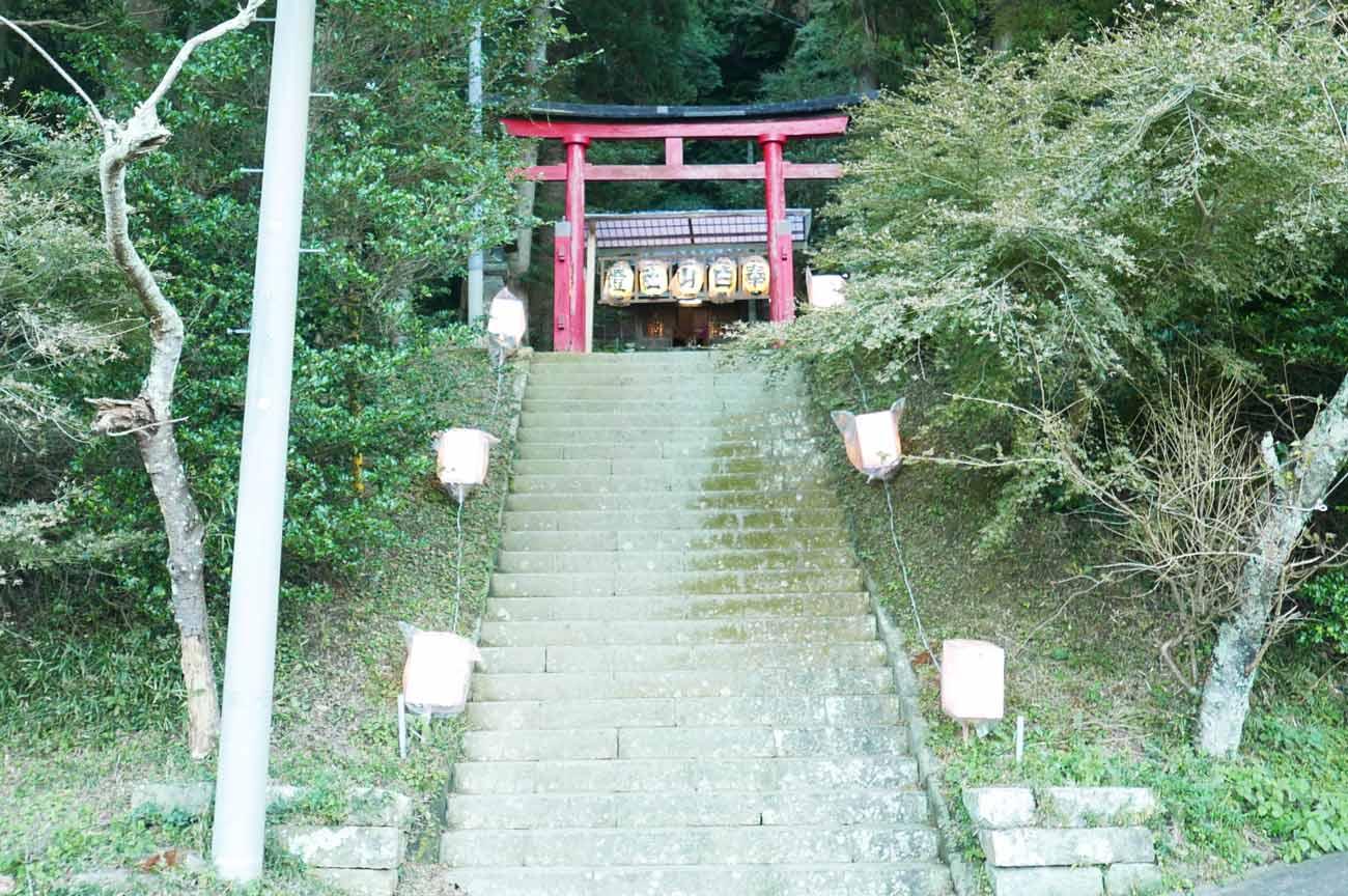 滝田神社鳥居の画像