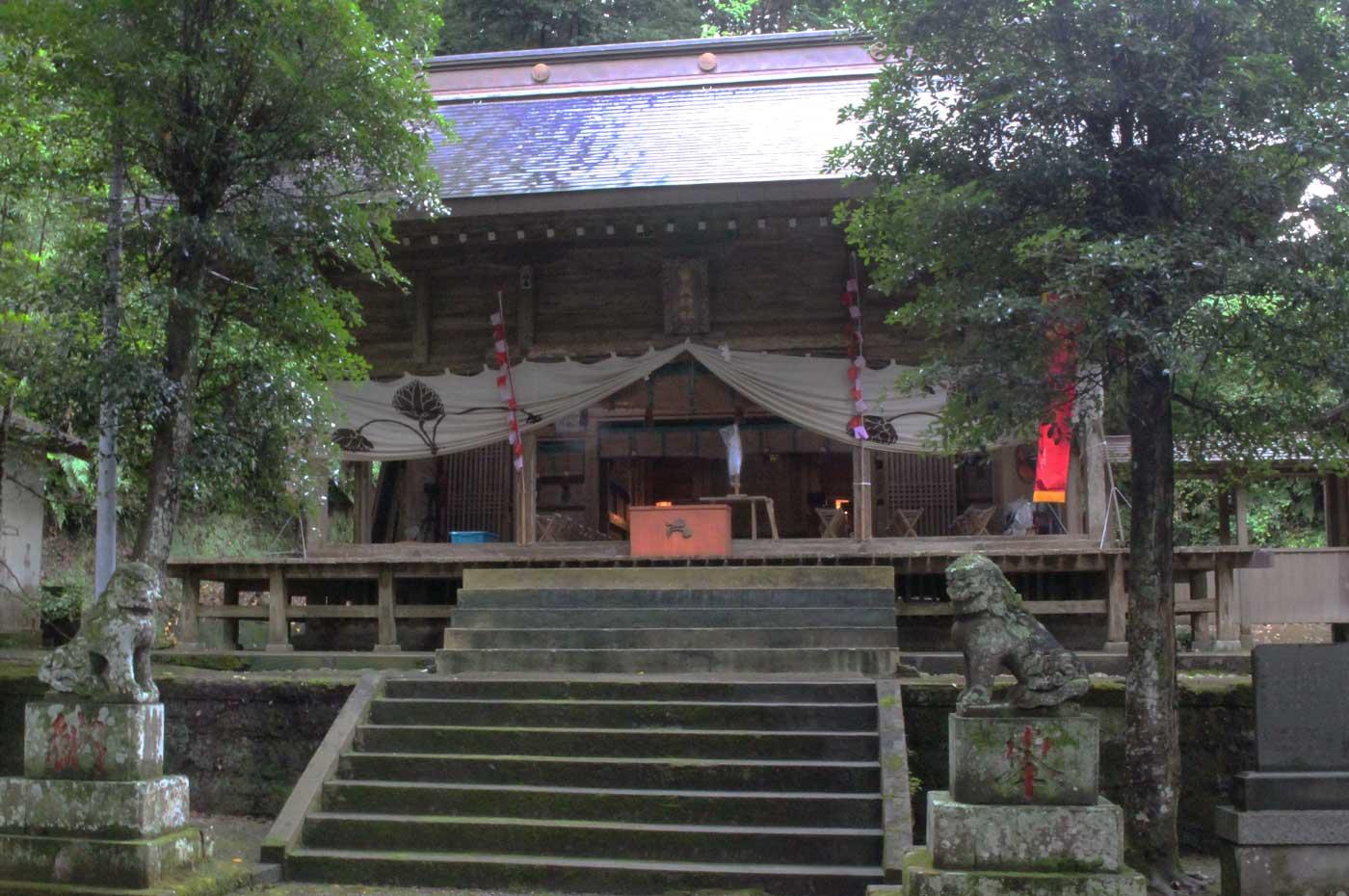 賀茂神社の本殿