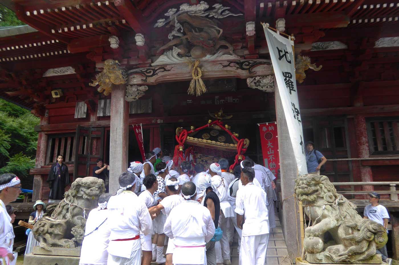 高蔵神社(大山地区)の祭礼