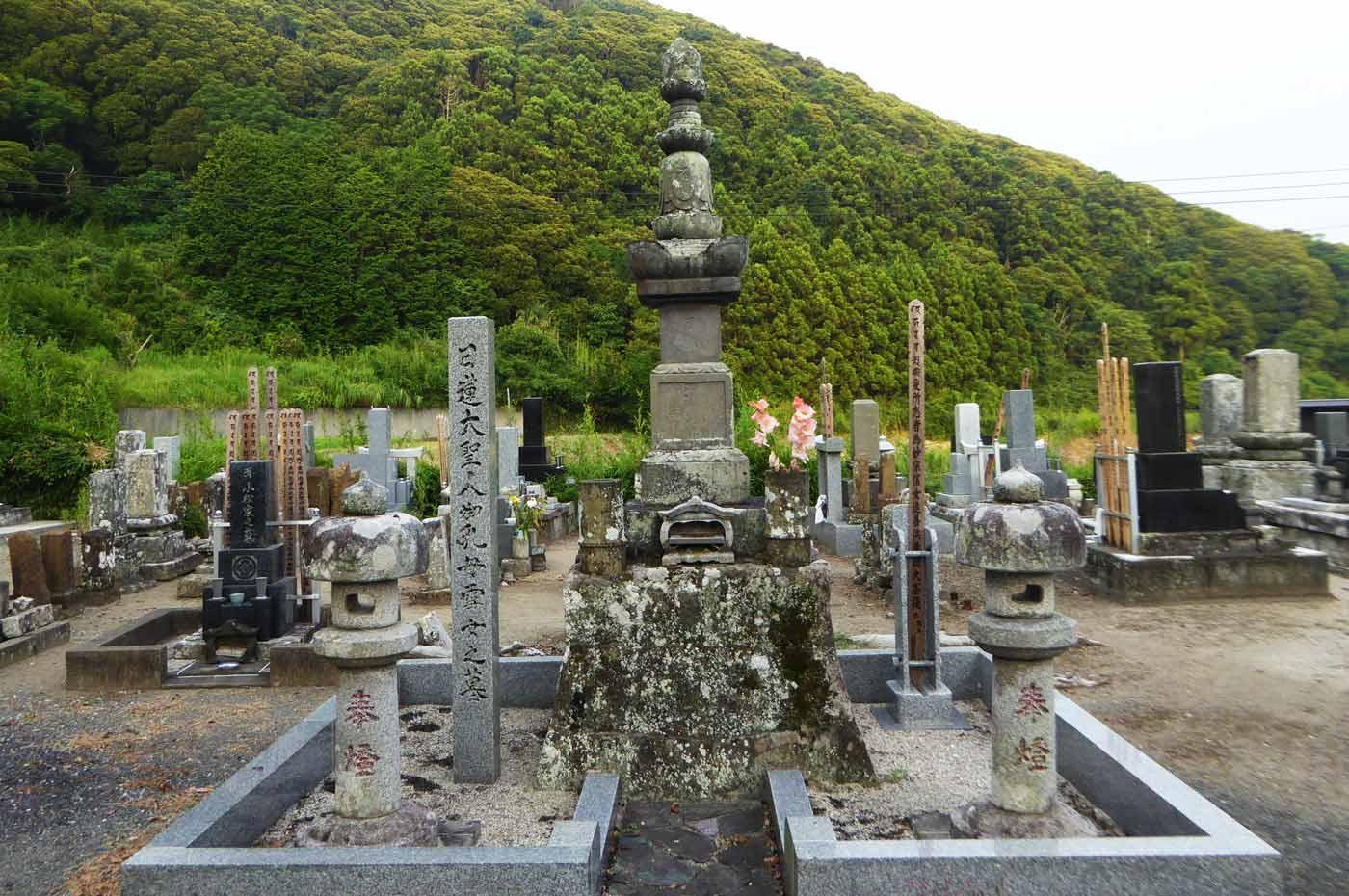 日蓮聖人の乳母の墓