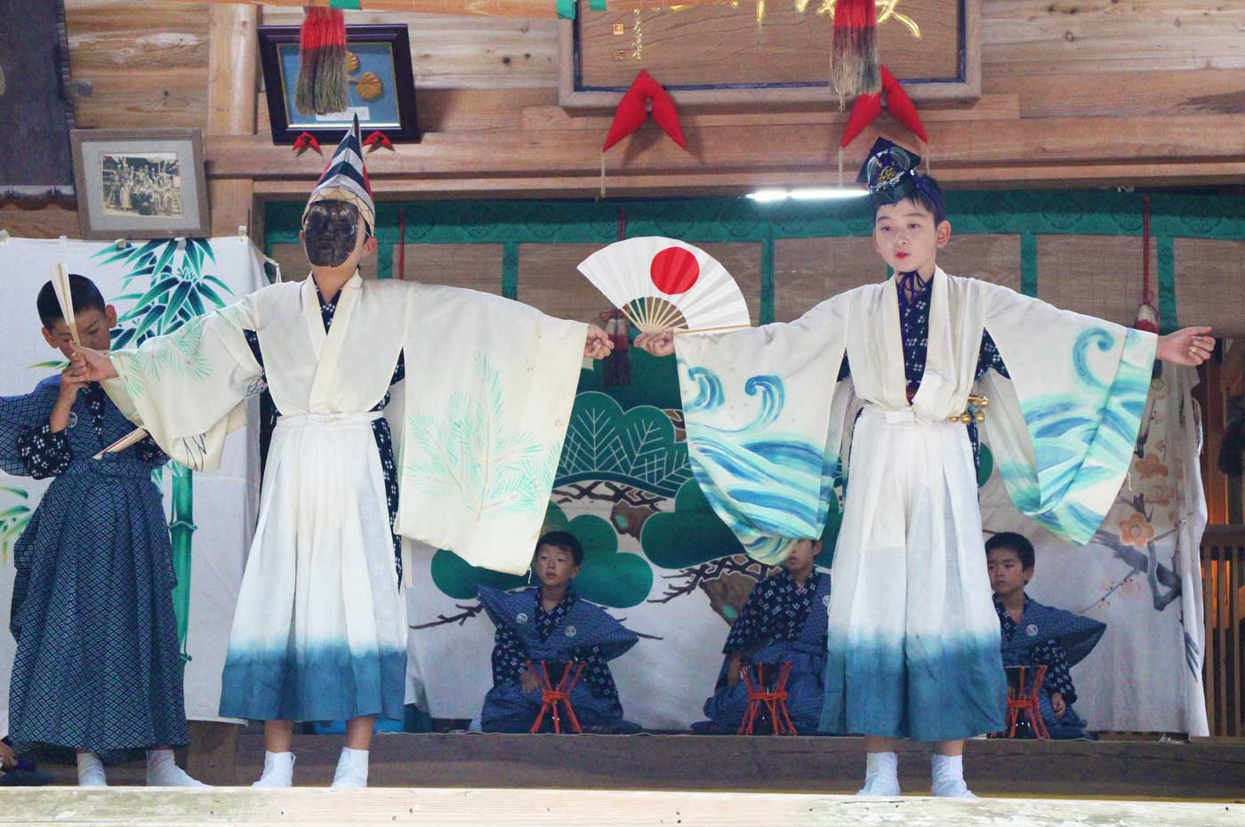 賀茂神社の三番叟