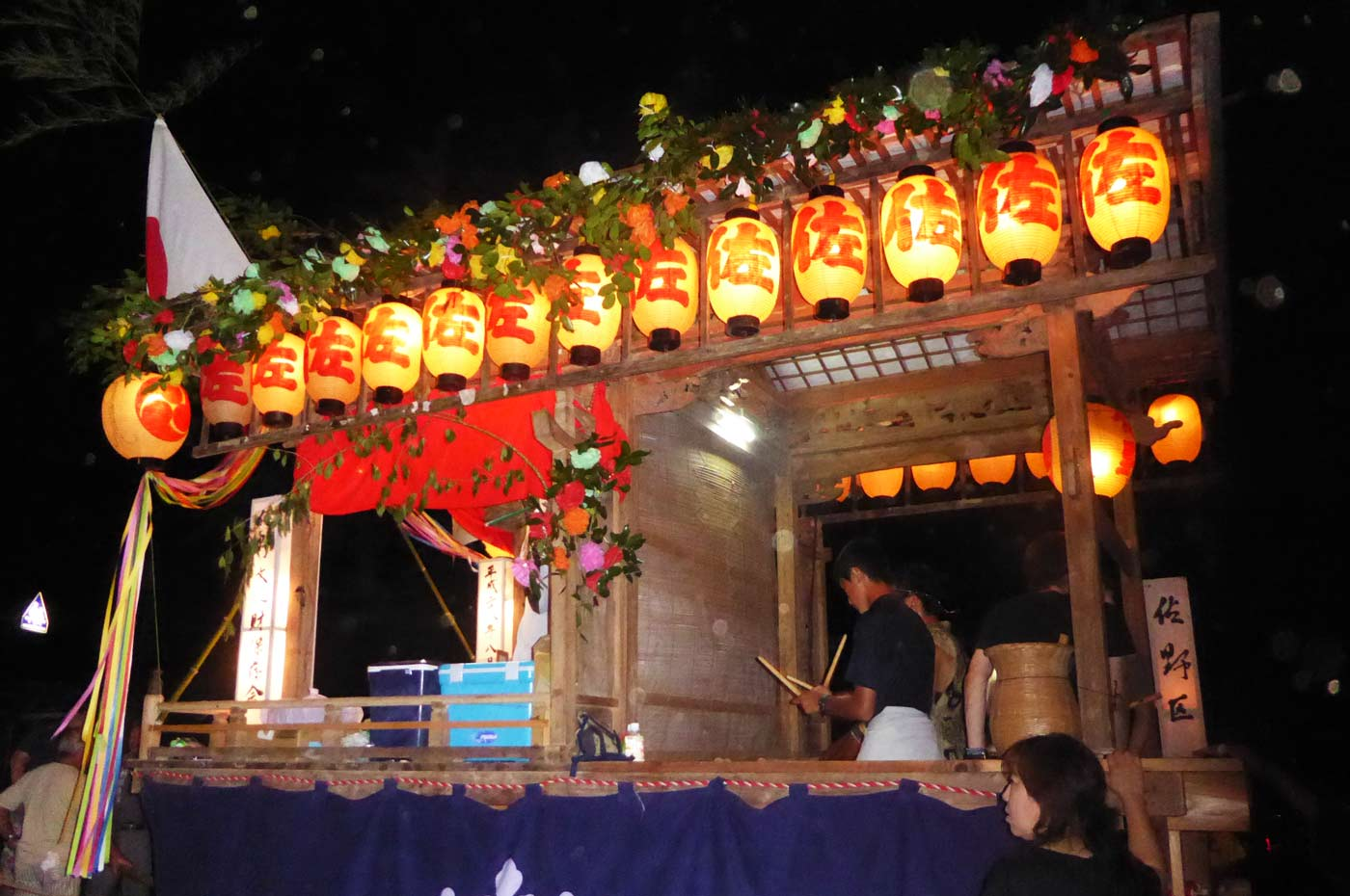 高蔵神社例祭 佐野区の屋台