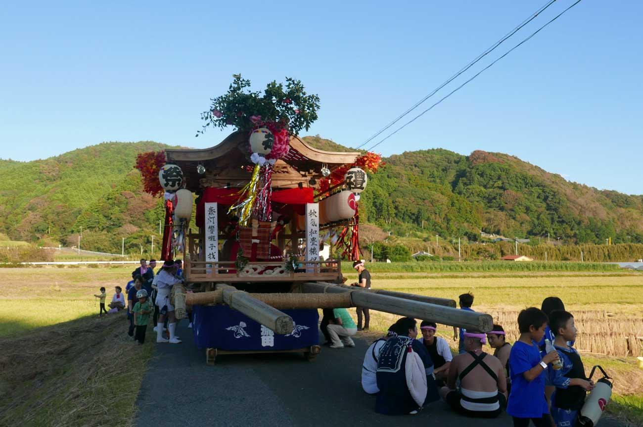 下滝田の屋台(前方)の画像