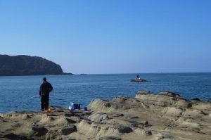 富浦湾の渡船