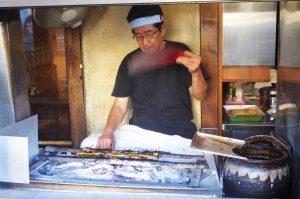 新松の鰻職人
