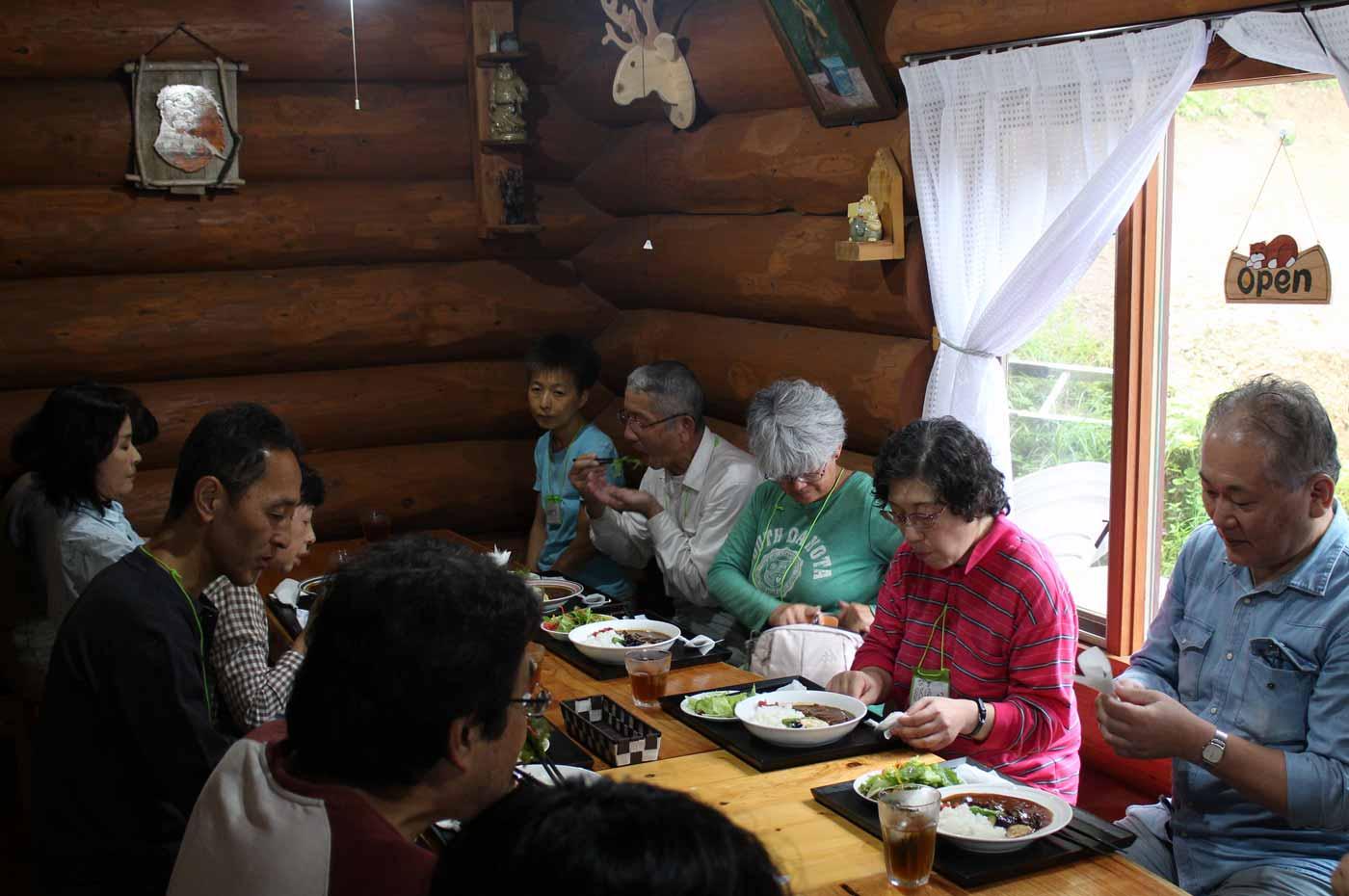 牛たん市川 藏にてお昼ごはんの一コマ