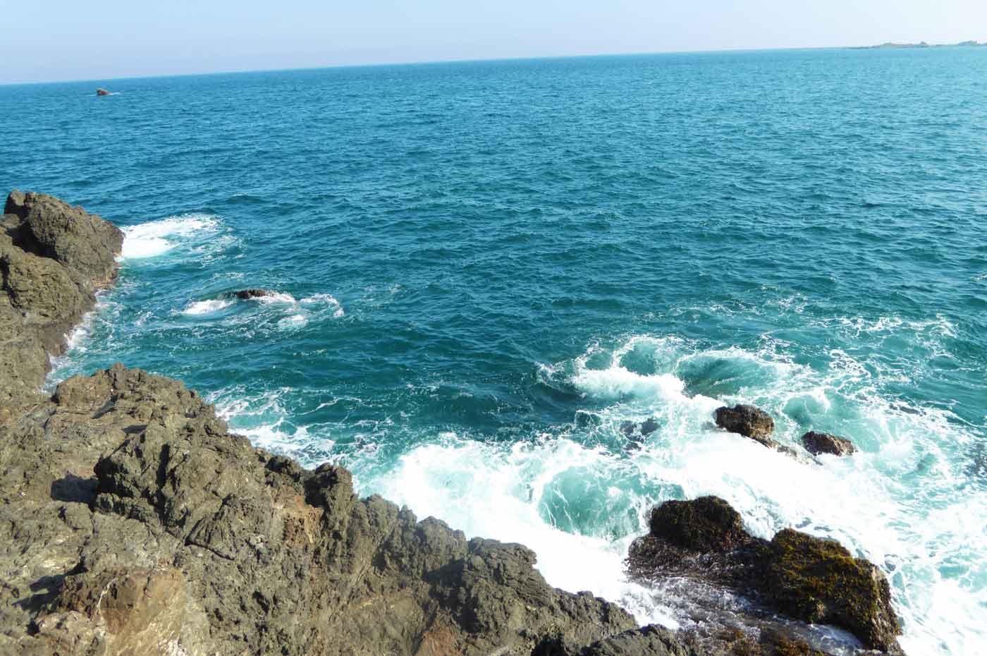 弁天島中央の釣り場