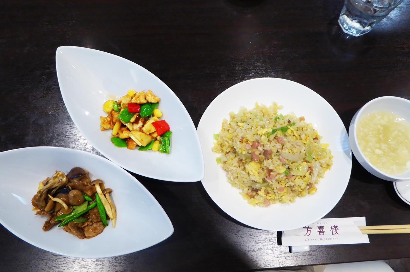 ランチの広東麺
