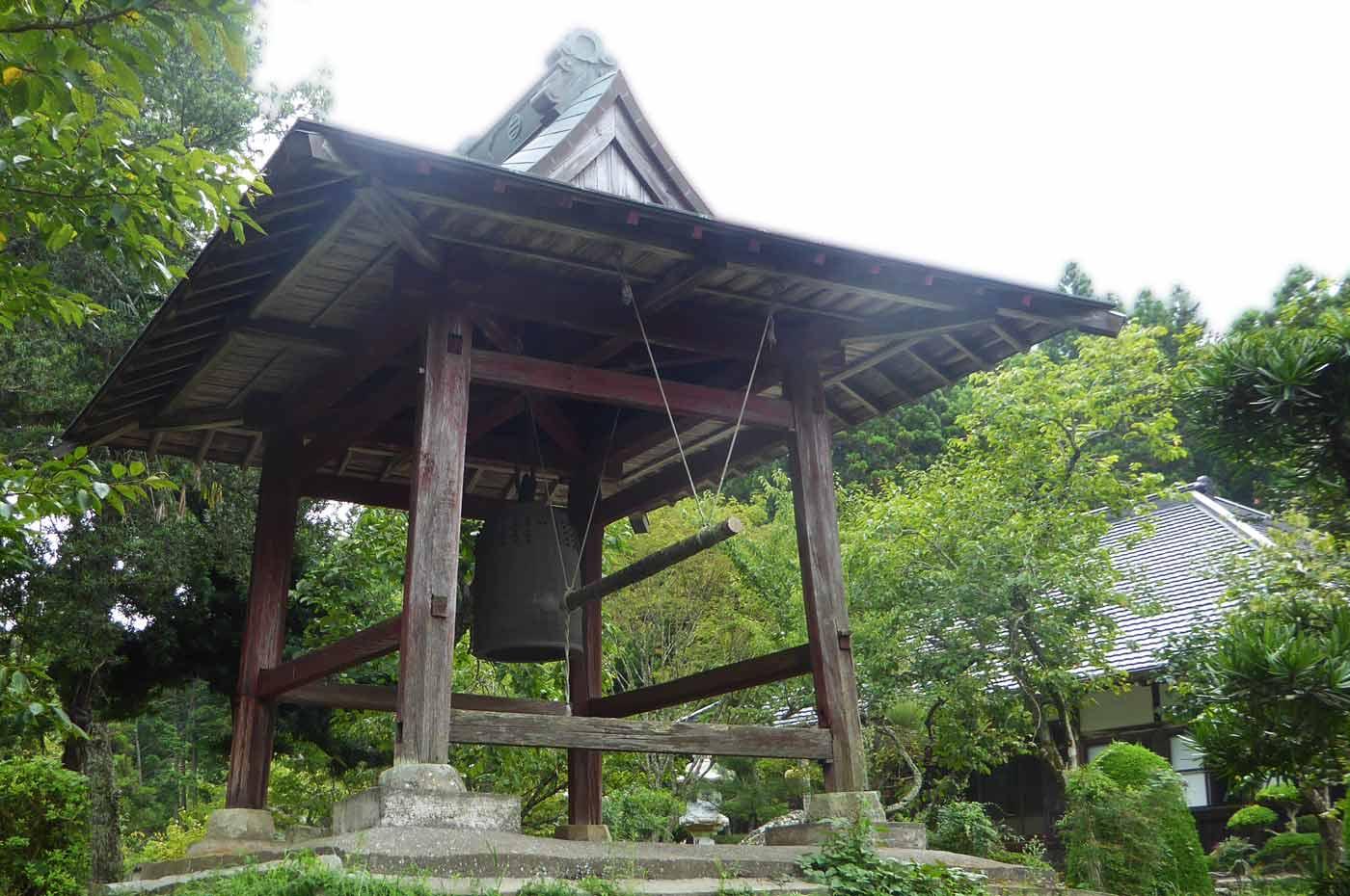 長安寺の梵鐘