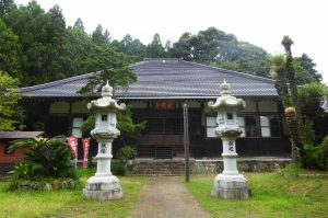 長安寺の本堂