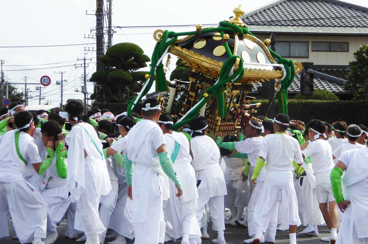 木幡神社の神輿の画像