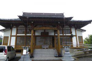 真福寺の本堂