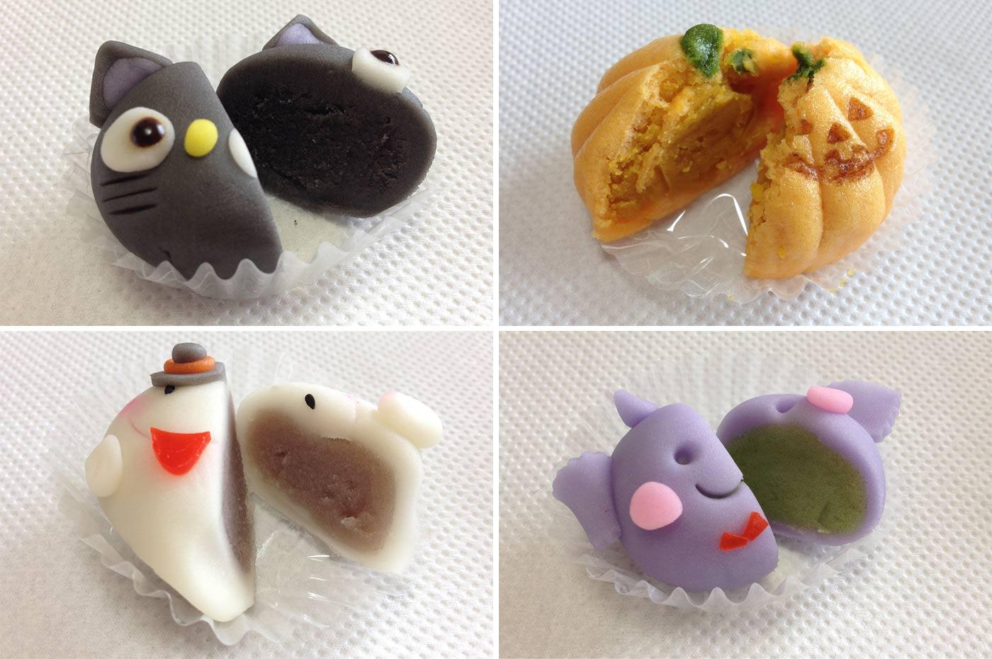 盛栄堂 ハロウィン和菓子(中身)