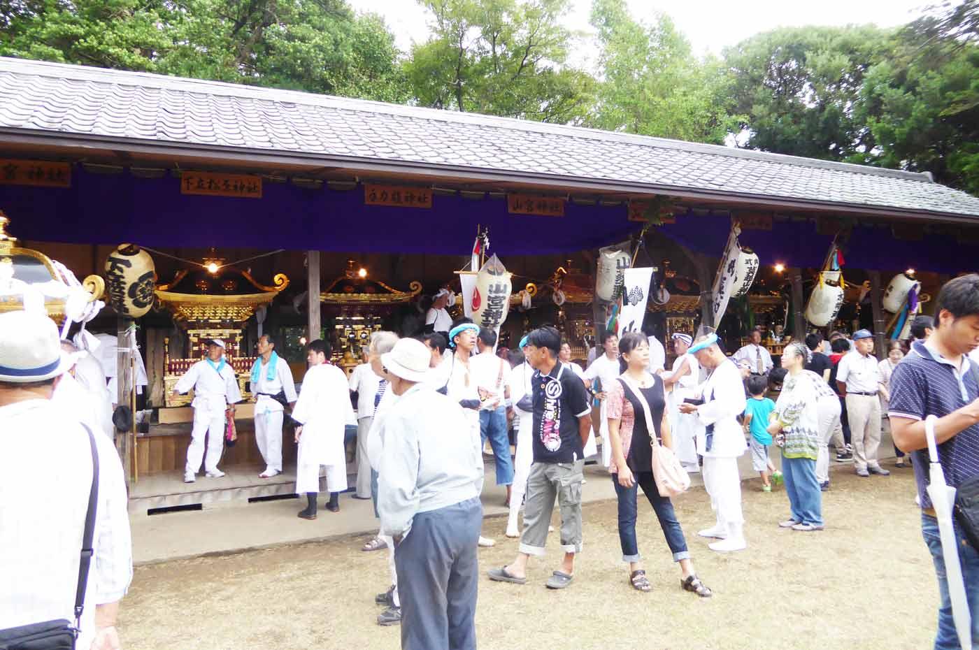 鶴谷八幡宮の神輿