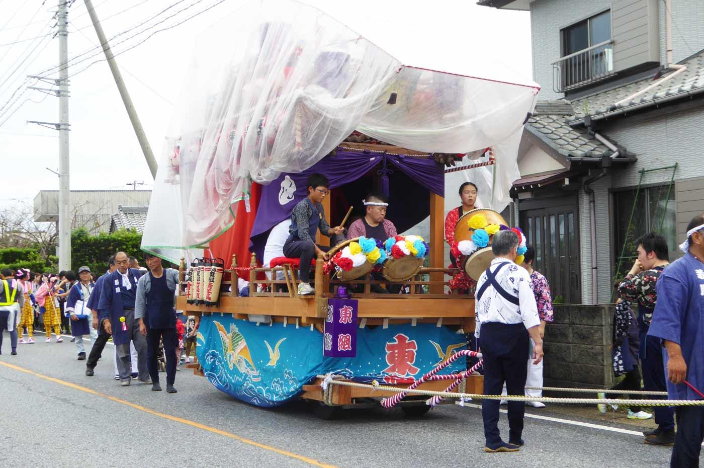 海松東組の山車