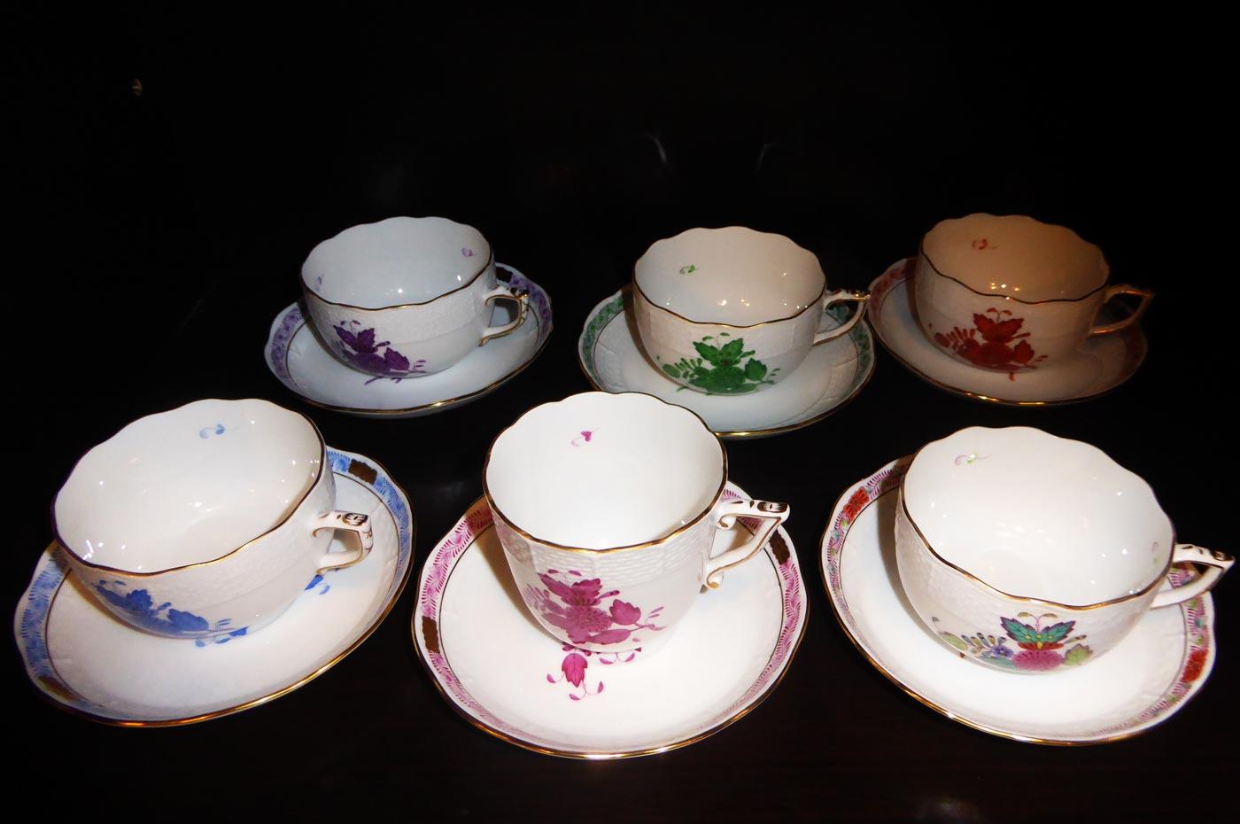 ロジェ ルージュのマイセンのコーヒーカップ