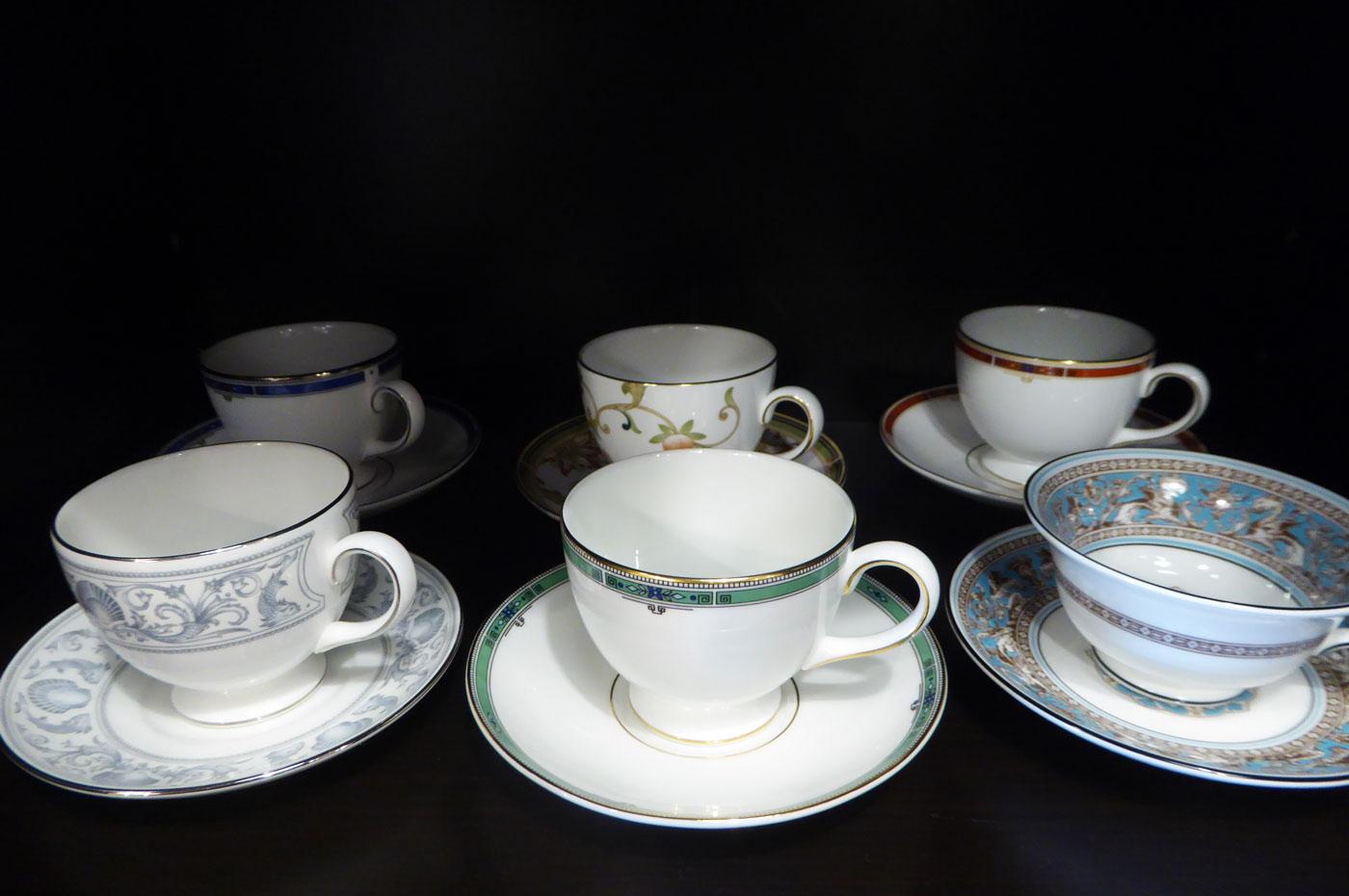 ロジェ ルージュのウェッジウッドのコーヒーカップ