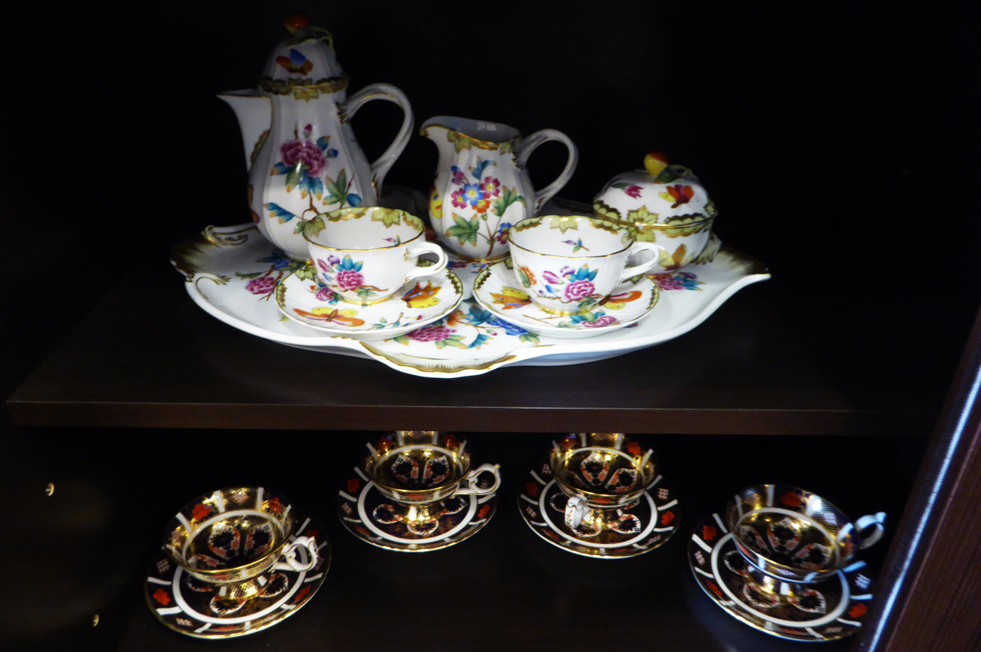 ロジェ ルージュのロイヤル・コペンハーゲンのコーヒーカップ