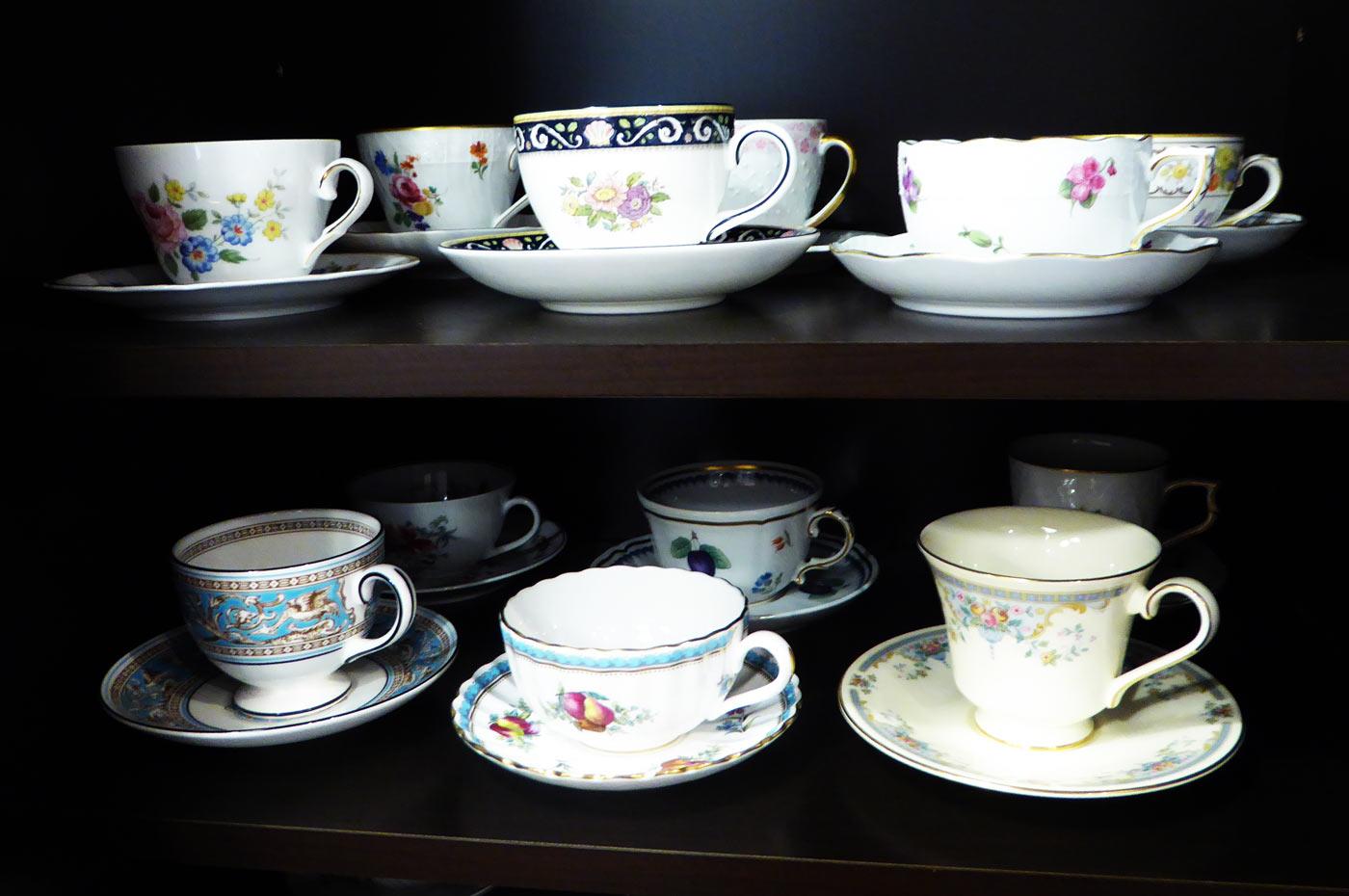ロジェ ルージュのエルメスのコーヒーカップ