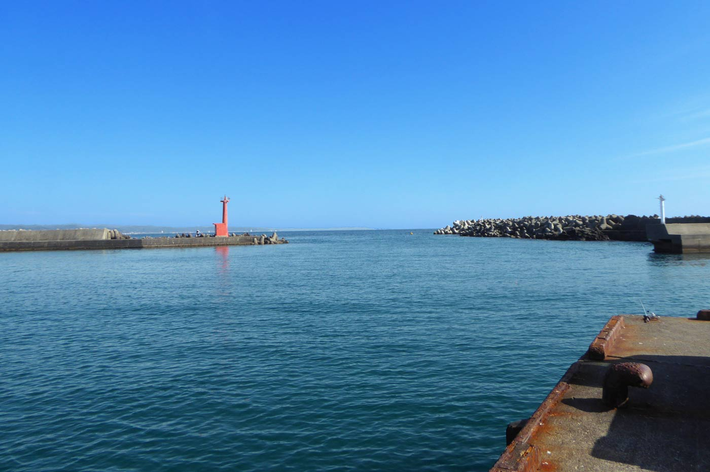千倉漁港の外観