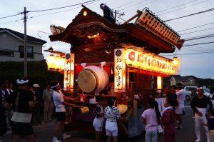 千代皇神社の屋台