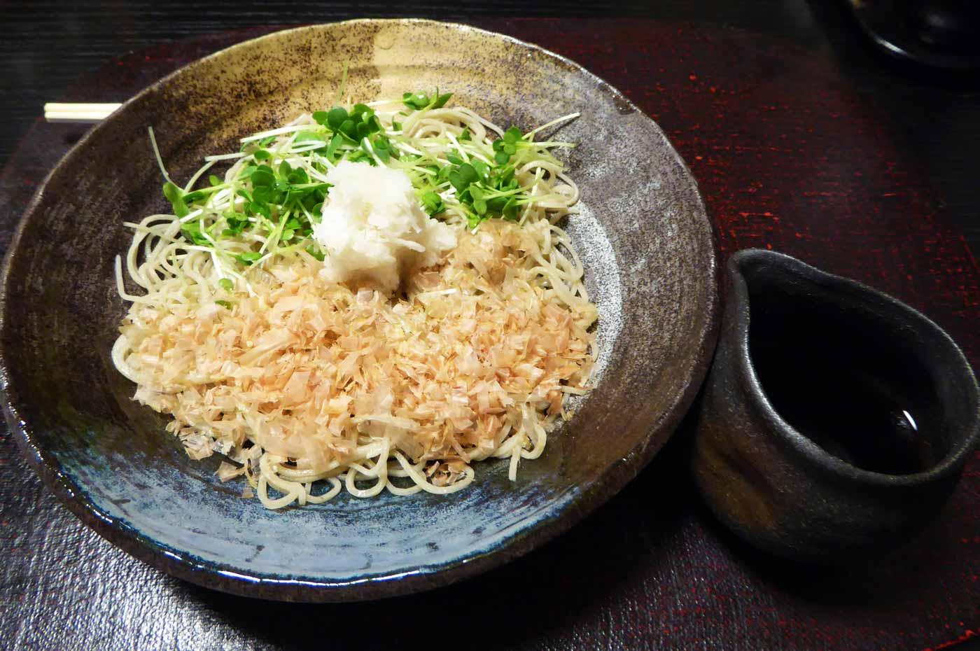 辛み大根蕎麦