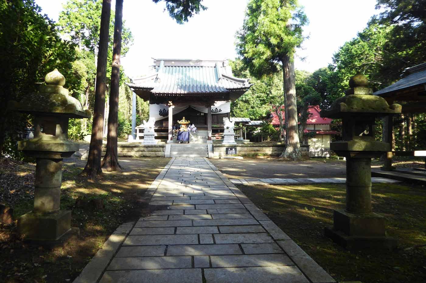 御嶽神社の神輿