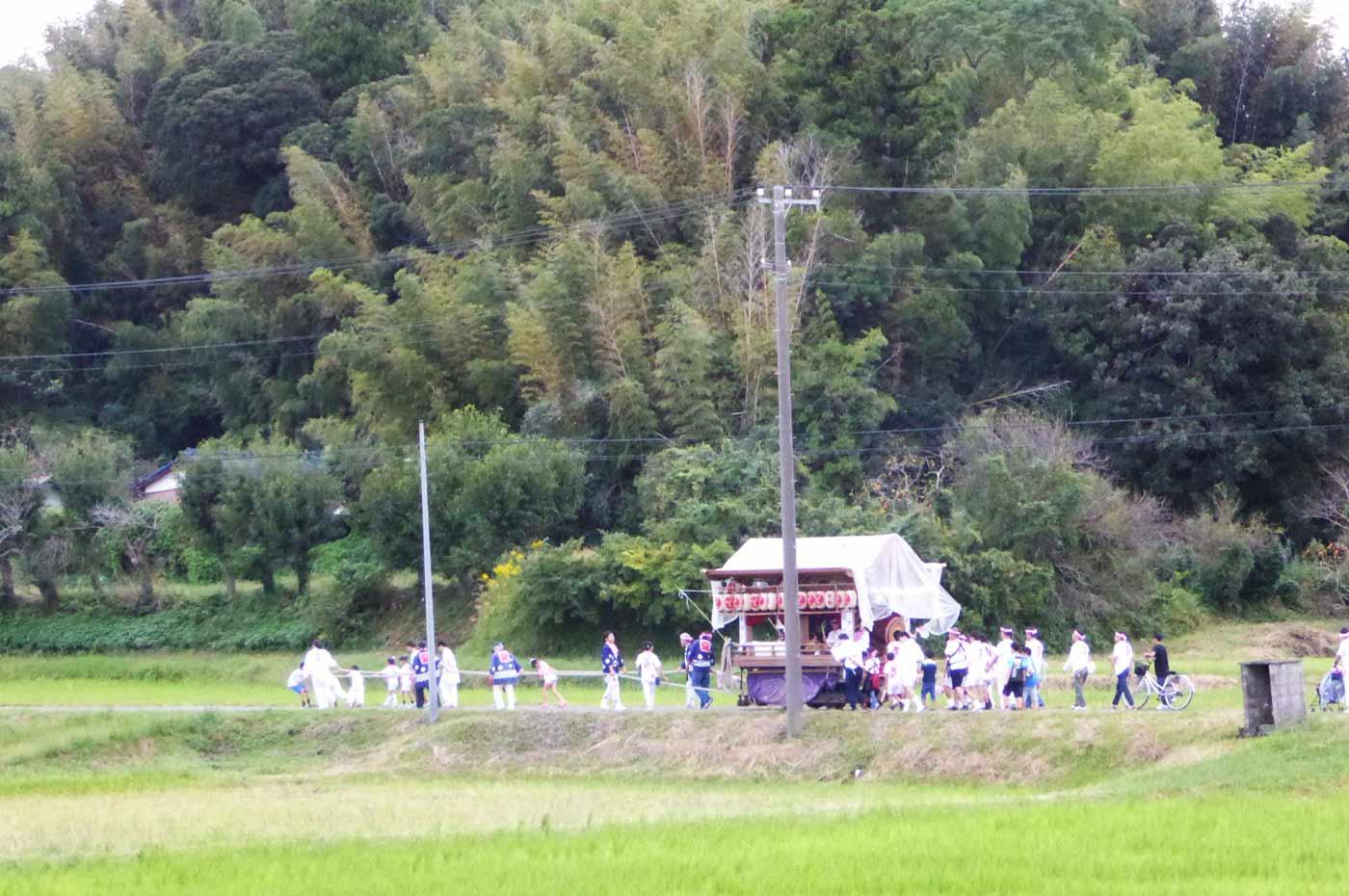 館山市竹原の祭礼