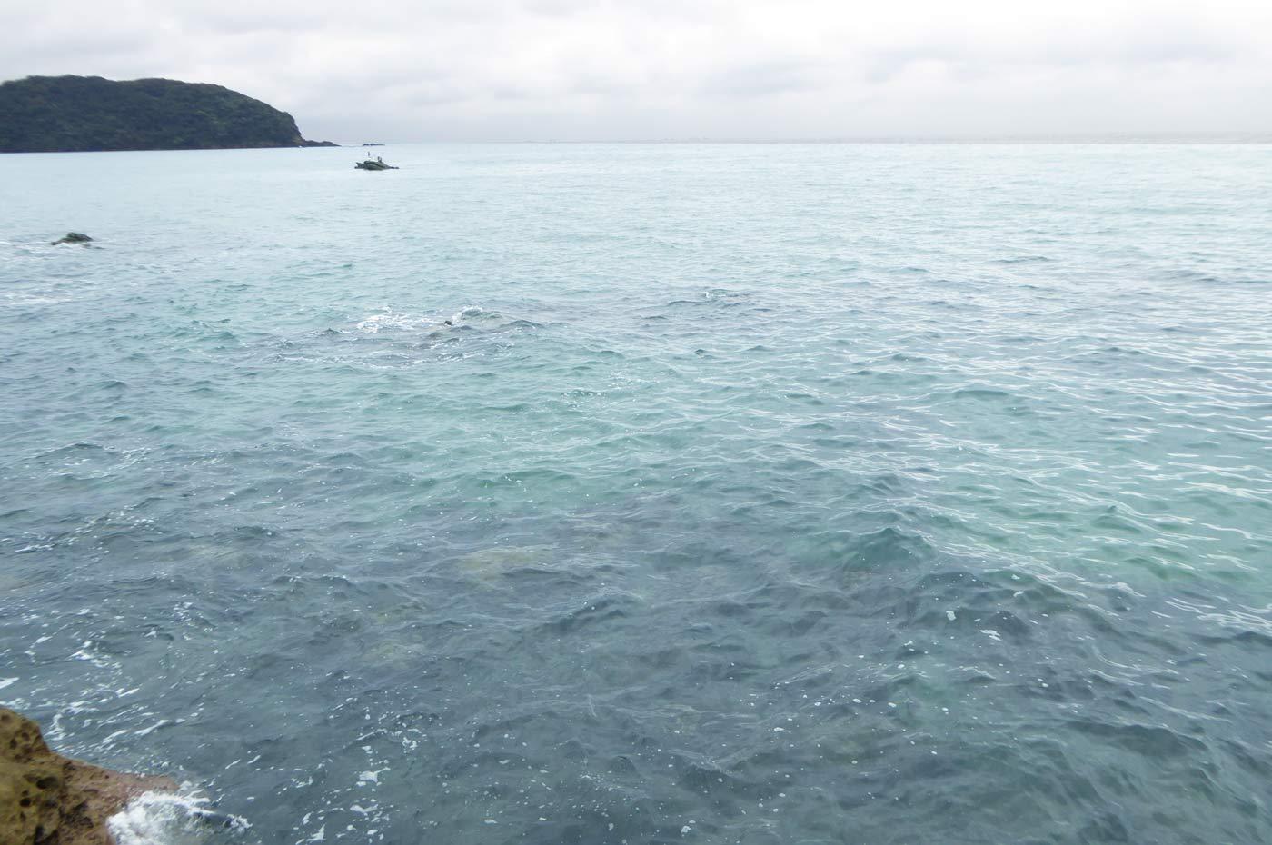 逢島先端の釣り場