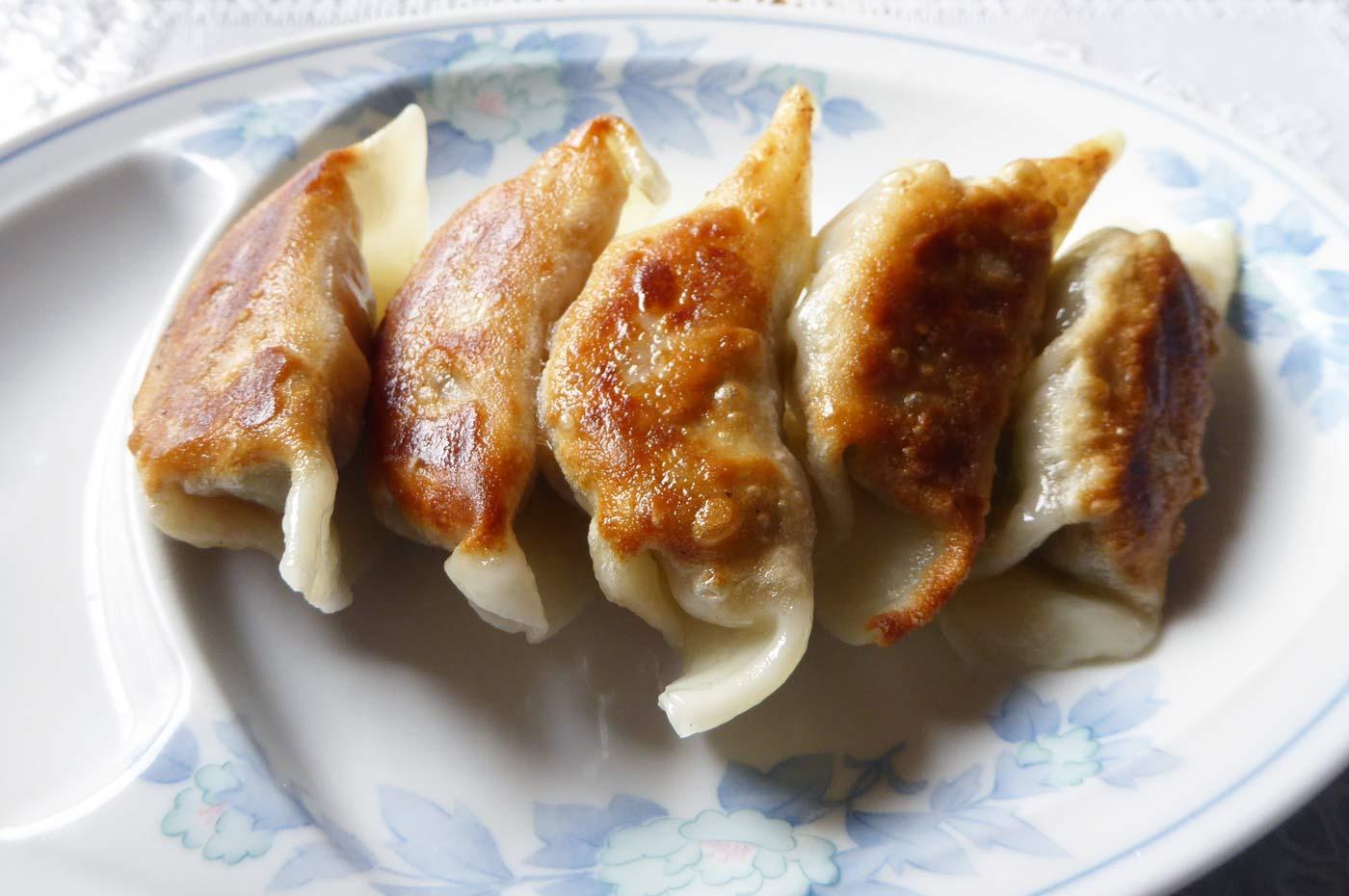 八洲軒の餃子の画像
