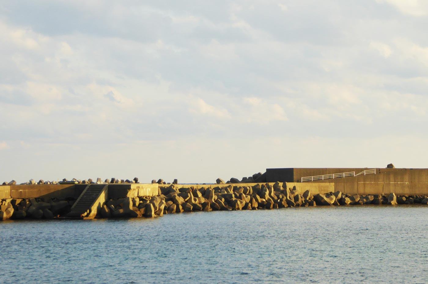 乙浜港の沖堤防2