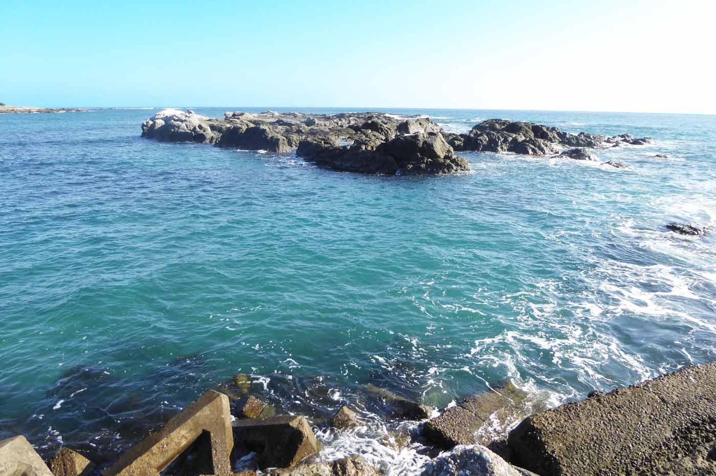 江見港の前島の離れ