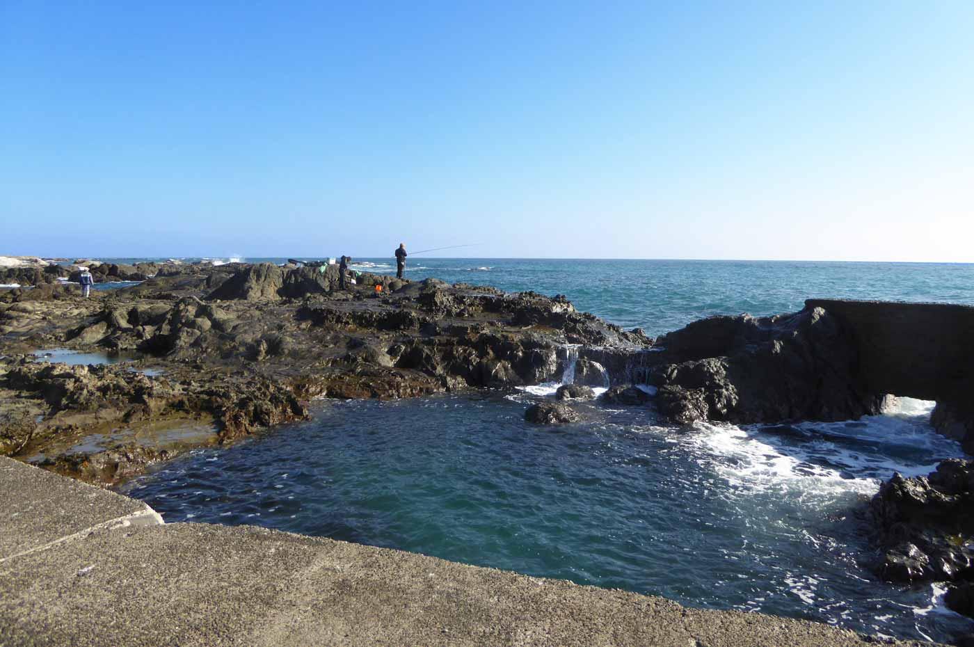 江見港の前島