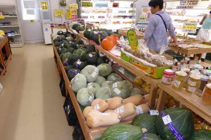 野菜・農産物販売コーナー