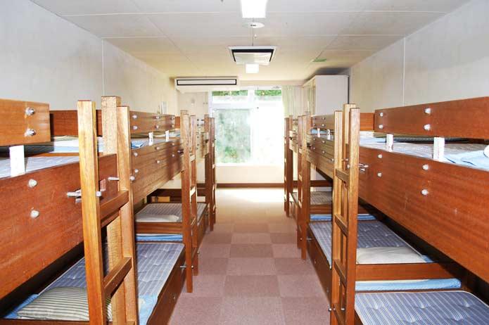 大房岬自然の家の宿泊室の写真