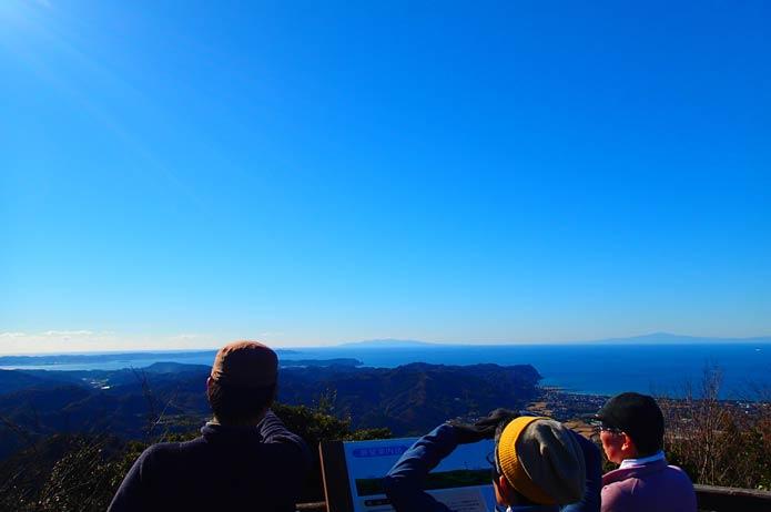 大房岬第一展望台からの風景