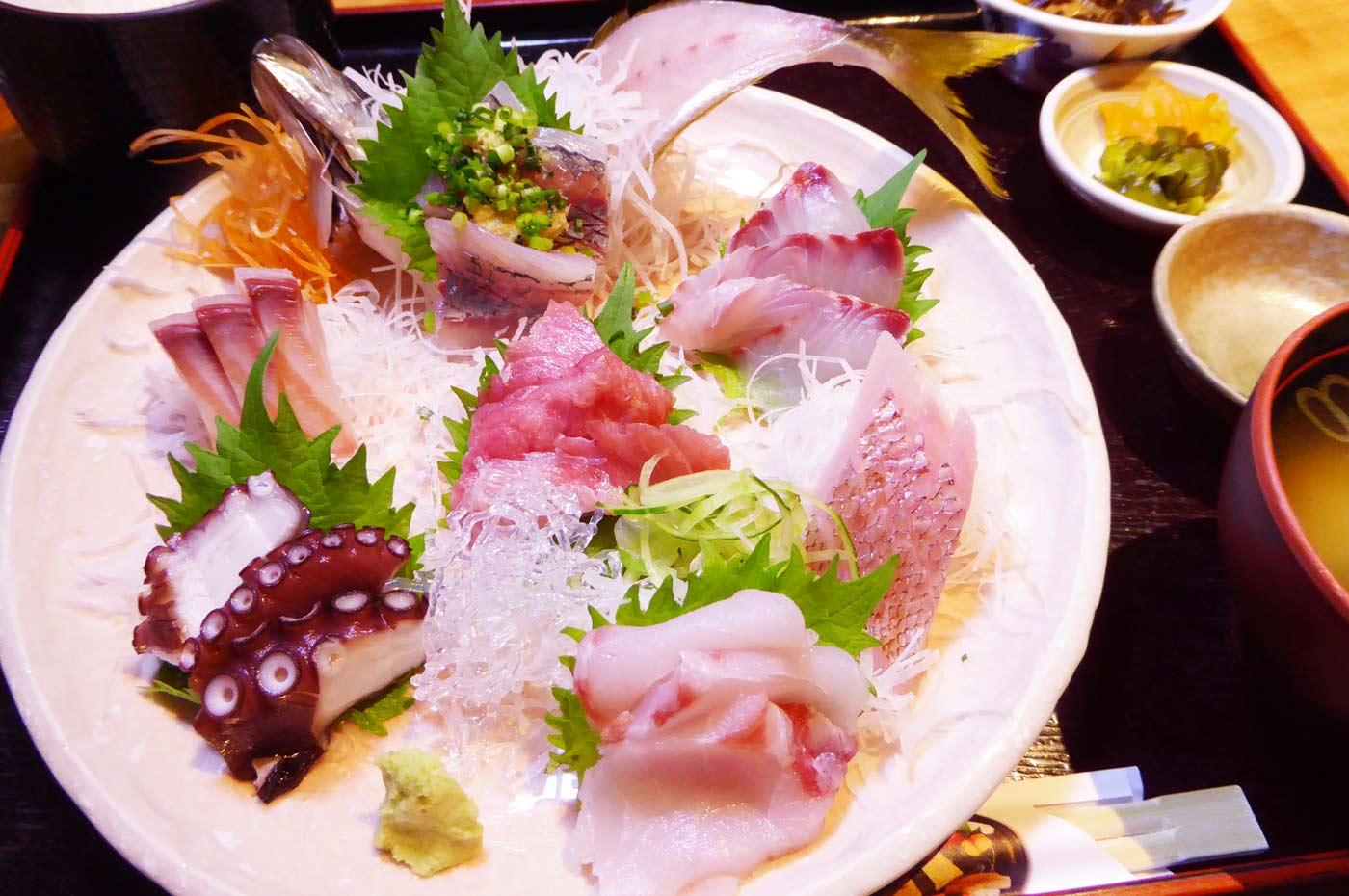 若鈴の地魚定食
