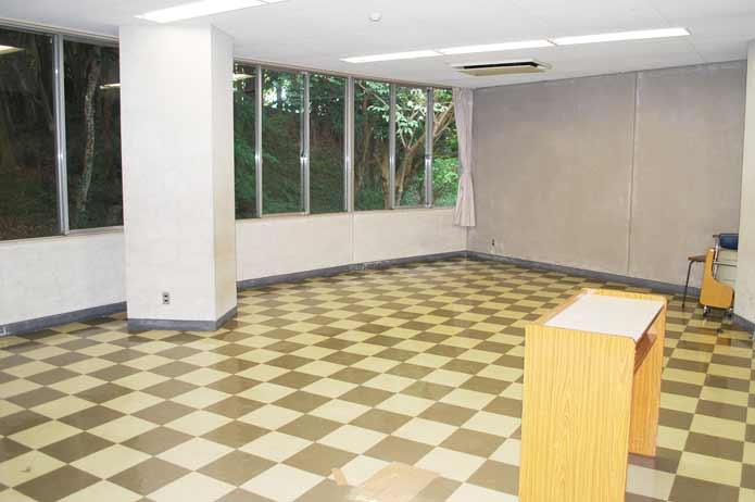 大房岬自然の家の研修室の写真